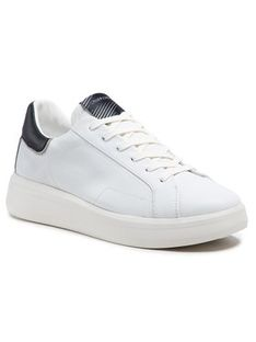Crime London Sneakersy Low Top Level Up 11203PP3.10 Biały