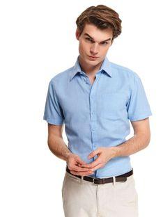 Koszula z tkaniny oksford o kroju regular