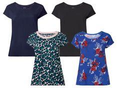ESMARA® T-shirt damski XXL z bawełny, 1 sztuka