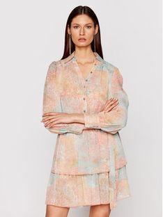 Marciano Guess Sukienka koszulowa 1GG737 9528Z Kolorowy Regular Fit
