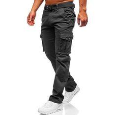 Spodnie męskie szare Denley