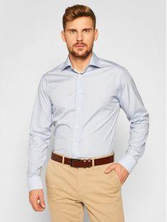 Eton Koszula 100001273 Niebieski Slim Fit
