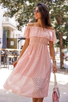 Sukienka MATEKA PINK