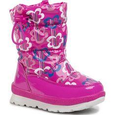 Buty zimowe dziecięce Agatha Ruiz De La Prada sznurowane śniegowce