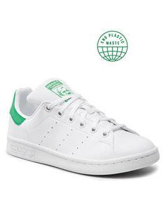 adidas Buty Stan Smith J FX7519 Biały