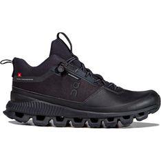 Buty sportowe damskie On Running sznurowane czarne