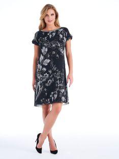 Zwiewna sukienka w kwiaty Potis & Verso ZODIAC