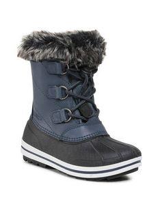 CMP Śniegowce Kids Anthilian Snow Boot Wp 30Q4594 Granatowy