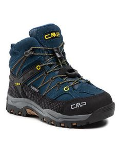 CMP Trekkingi Kids Rigel Mid Trekking Shoe Wp 3Q12944 Granatowy