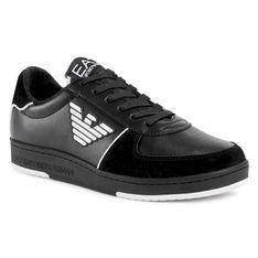 Sneakersy EA7 EMPORIO ARMANI - X8X073 XK176 A120 Black/White