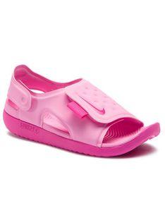 Nike Sandały Sunray Adjust 5 (GS/PS) AJ9076 601 Różowy
