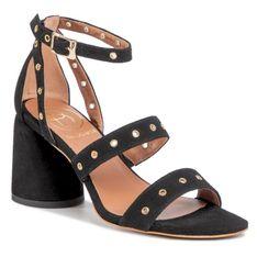 Sandały BALDOWSKI - D03021-4744-002 Zamsz Czarny