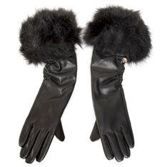 Rękawiczki Damskie GUESS - Not Coordinated Gloves AW8536 POL02 BLA