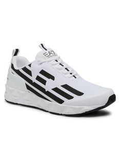 EA7 Emporio Armani Sneakersy X8X033 XCC52 D611 Biały