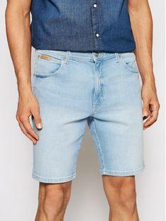 Wrangler Szorty jeansowe Texas W11CZH280 Niebieski Slim Fit