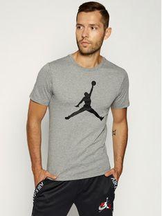 Nike T-Shirt Jordan Jumpman Ss Crew CJ0921 Szary Regular Fit