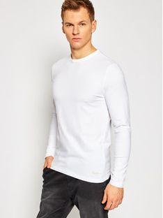 Pepe Jeans Longsleeve Orginal Basic PM503803 Biały Slim Fit