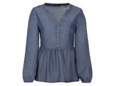 ESMARA® Bluzka damska z lyocellu, 1 sztuka