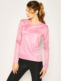 Nike Koszulka techniczna Miler Top AJ8128 Różowy Standard Fit