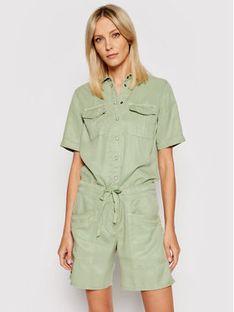 Pepe Jeans Kombinezon Tory PL230336 Zielony Regular Fit