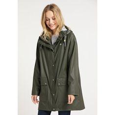 Płaszcz damski Schmuddelwedda zielony casual