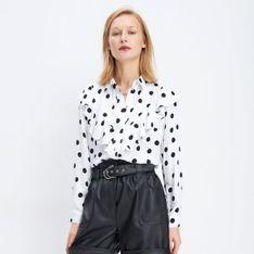 Mohito - Wiskozowa koszula w grochy - Biały