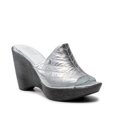 Klapki SIMEN - 4632A Srebrny