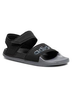 adidas Sandały adilette Sandal FY8649 Czarny