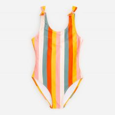 Reserved - Jednoczęściowy strój kąpielowy - Żółty