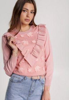 Różowy Sweter Nautiny