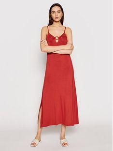 Emporio Armani Sukienka letnia 262483 1P315 10055 Pomarańczowy Regular Fit