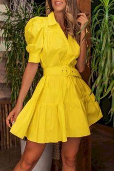 Sukienka BALOSA YELLOW