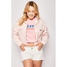 Lee kurtka damska różowa krótka