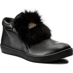 Buty zimowe dziecięce Zarro trzewiki z tworzywa sztucznego