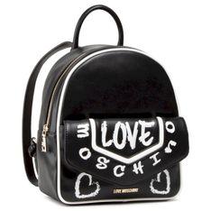 Plecak LOVE MOSCHINO - JC4222PP0CKC100A Nero