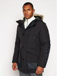 G-Star Raw Parka Vodan Faux Fur D17614-A281-6484 Czarny Regular Fit