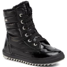 Buty zimowe dziecięce Bartek śniegowce wiązane