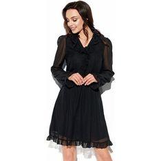 Sukienka Lemoniade z jedwabiu z długim rękawem