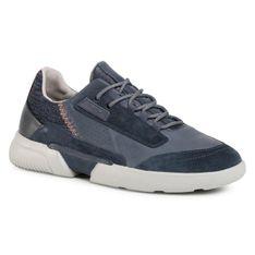 Sneakersy GEOX - U Smoother A U04AF A08522 C4007 Dk Bue