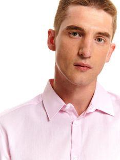 Koszula żakardowa regular fit