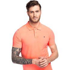 T-shirt męski Giacomo Conti pomaranczowy