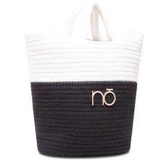 Torebka NOBO - NBAG-XK0130-CM20 Biały Czarny