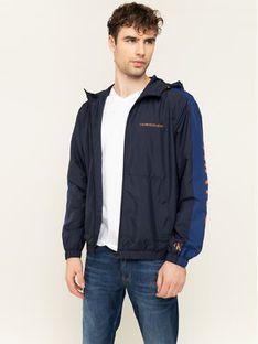 Calvin Klein Jeans Kurtka przejściowa Windbreaker J30J314239 Granatowy Regular Fit