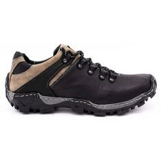 KENT Męskie buty trekkingowe 116 czarne