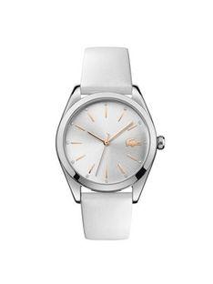 Lacoste Zegarek Parisienne 2001099 Biały