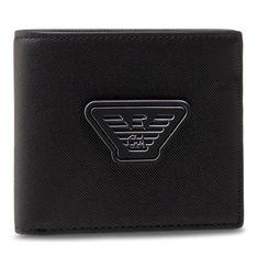 Duży Portfel Męski EMPORIO ARMANI - Y4R168 Y019V 81072 Black