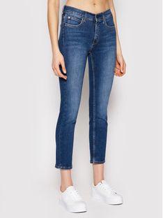 Calvin Klein Jeansy K20K202838 Niebieski Slim Fit