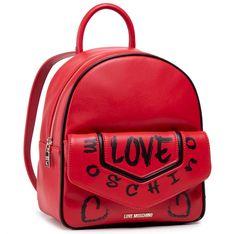 Plecak LOVE MOSCHINO - JC4222PP0CKC150A  Rosso