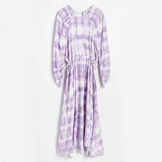Reserved - Sukienka z EcoVero™ - Wielobarwny