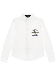 Polo Ralph Lauren Koszula Ls Bd 323834895001 Biały Regular Fit